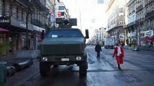 vehicule blinde dans paris